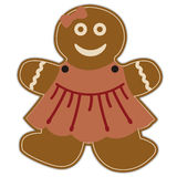 Gingerbread Girl Stock Photo
