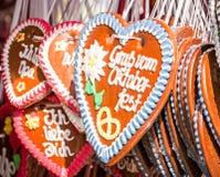 Gingerbread heart Royalty Free Stock Photos