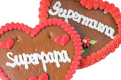 Gingerbread Heart Royalty Free Stock Images