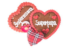 Gingerbread Heart Stock Image