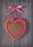 Gingerbread heart Royalty Free Stock Image