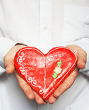 Gingerbread heart / Valentine Royalty Free Stock Photography