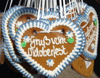 Free Gingerbread Hearts Royalty Free Stock Photo - 16320955