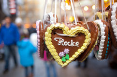 Gingerbread hearts Royalty Free Stock Photo