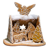 Gingerbread Holy Family Royalty Free Stock Photos
