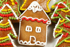 Gingerbread home Stock Photo