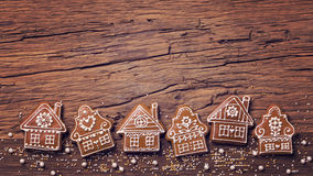 Gingerbread home cookies Stock Photography