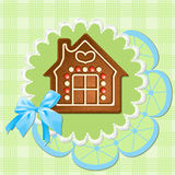 Gingerbread home Royalty Free Stock Photography