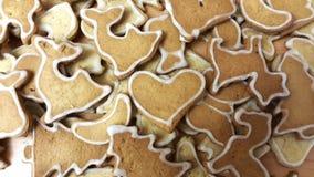 Gingerbread homemade cookies. stock image