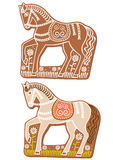 Gingerbread horses Royalty Free Stock Images