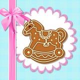 Gingerbread horses Stock Photos