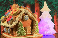 Gingerbread house. Czech gingerbread house dessert food stock images