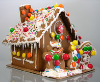 Gingerbread house Stock Images