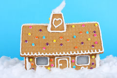 Free Gingerbread House Royalty Free Stock Photography - 21425927
