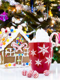 Gingerbread house Royalty Free Stock Images