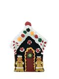 Gingerbread House. Isolated on a white background Royalty Free Stock Photos