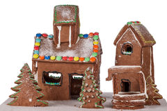 Gingerbread_house4 Royalty-vrije Stock Foto's