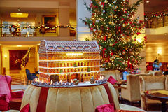Free Gingerbread House Royalty Free Stock Image - 58191466