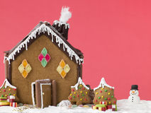 Free Gingerbread House Royalty Free Stock Photography - 5860977