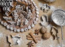Free Gingerbread House Stock Images - 64860094