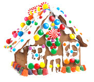 Free Gingerbread House Royalty Free Stock Images - 7075539