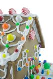 Gingerbread House. Isolated on a white background Stock Photo