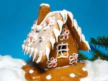 Free Gingerbread House Royalty Free Stock Images - 7581269