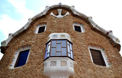 gingerbread house Antoni Gaudi Royalty Free Stock Image