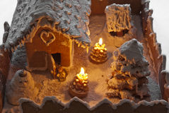 Gingerbread house Christmas Royalty Free Stock Photography