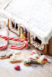 gingerbread house, christmas sweets Royalty Free Stock Photos