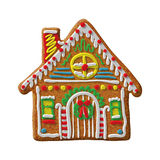 Gingerbread house cookie Stock Photos
