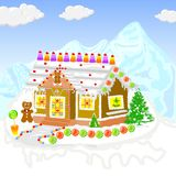 Gingerbread House Royalty Free Stock Photography