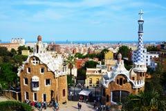 Gingerbread House of Gaudi Stock Image
