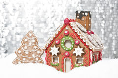 Gingerbread house Stock Image