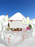Gingerbread House II Royalty Free Stock Images