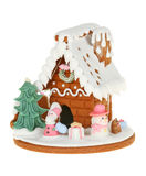 Gingerbread House Isolated On White background Royalty Free Stock Photo