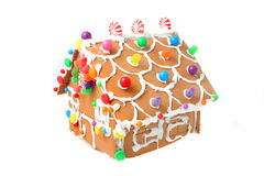 Gingerbread house kit stock image