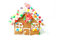 Gingerbread house kit stock images