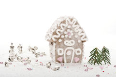 Gingerbread house royalty free stock image