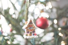 Gingerbread house ornament Royalty Free Stock Photography