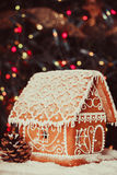 The gingerbread house Royalty Free Stock Photography