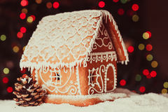 The gingerbread house Royalty Free Stock Image