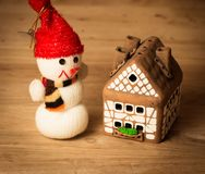 Gingerbread house over Stock Image