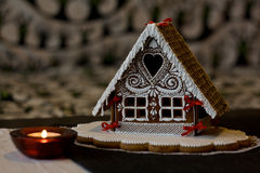 Gingerbread house. Slovak tradition, Holidays Stock Photography