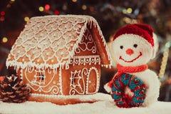 The gingerbread house Stock Photos