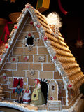 Gingerbread house in Vienna Christmas Market Royalty Free Stock Photo