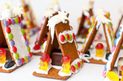 Gingerbread house village Stock Photography