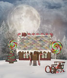 Gingerbread house Stock Photos
