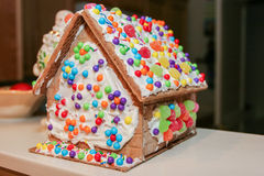 Gingerbread House Workshop Stock Images