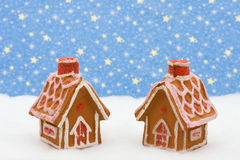 Gingerbread Houses Stock Images